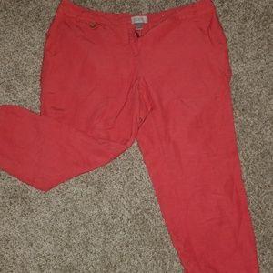 Ann Taylor LOFT cropped pants